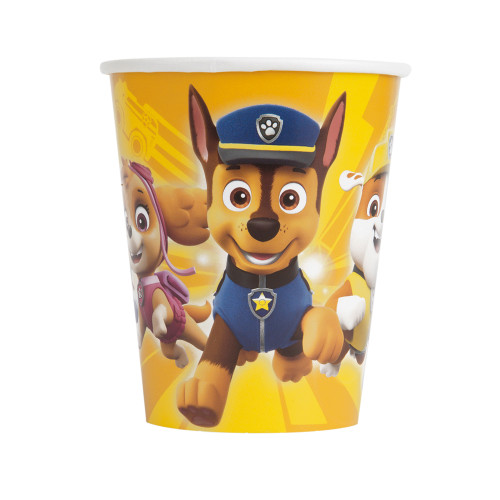 Paw Patrol 8 Ct 9 oz Hot Cold Paper Cups Chase Rubble Skye