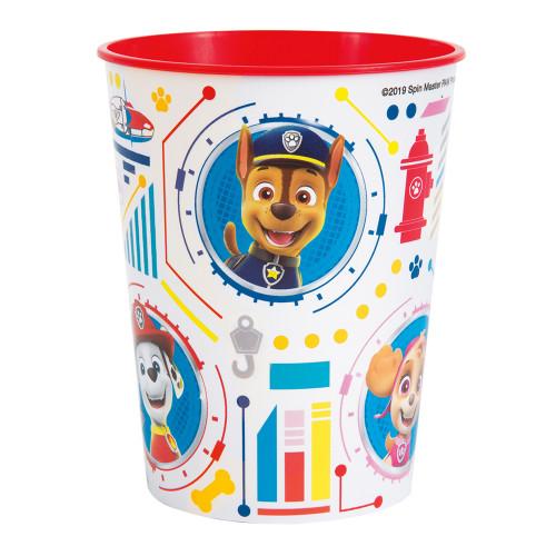 Paw Patrol Plastic Favor Cup 16 oz Chase Marshall Skye