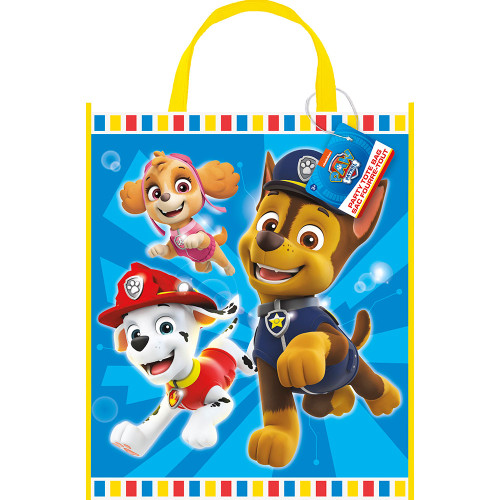 """Paw Patrol Loot Favor Party Tote Bag 13"""" x 11"""" Skye Marshall Chase"""