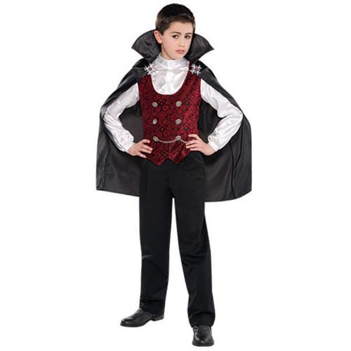 Dark Vampire Halloween Costume Large 12 - 14