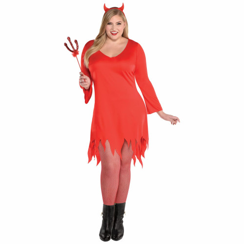 Burnin' Up Devil Women's Plus XXL 18-20 Costume