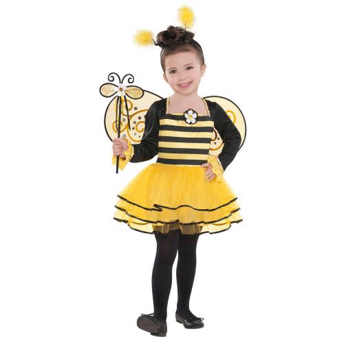 Ballerina Bee Girls Child Small 4 - 6 Costume