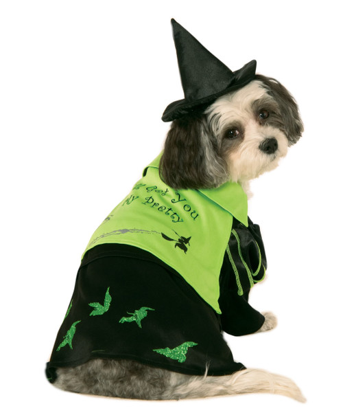 Wicked Witch Of The West Small Rubies Pet Shop Dog Costume Wizard OZ