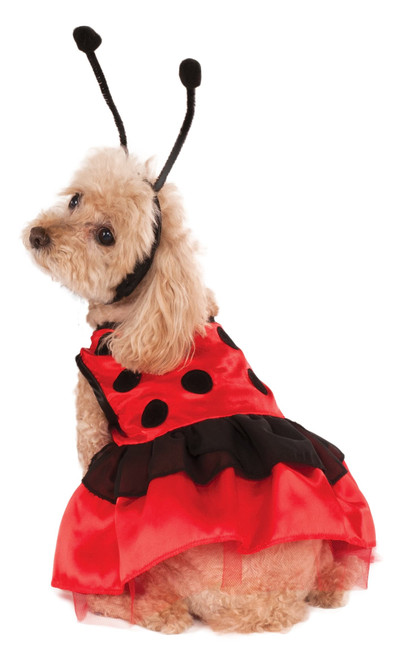 Red Ladybug XS Rubies Pet Shop Dog Costume Xsmall