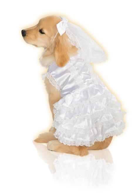 Bride Medium Rubies Pet Shop Dog Costume