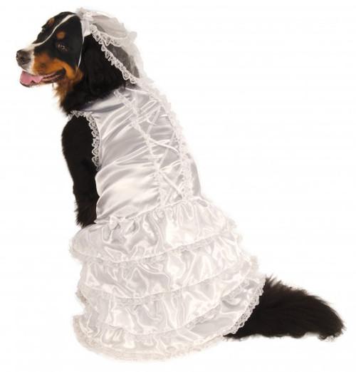 Big Dogs Bride XXXL Rubies Pet Shop Dog Costume 3X