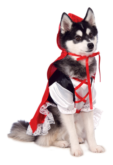 Red Riding Hood Small Rubies Pet Shop Dog Costume