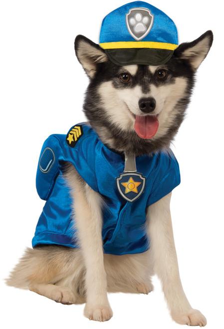 Paw Patrol Chase XLarge Rubies Pet Shop Dog Costume XL