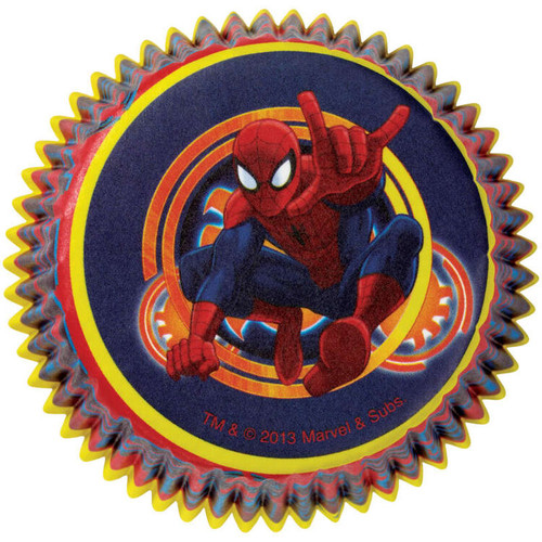 Spiderman Ultimate Baking Cups 50 Ct Party Cupcakes Liners Treats Spider Man