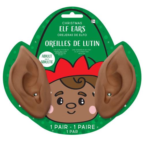 Black Elf Ears Costume Accessory