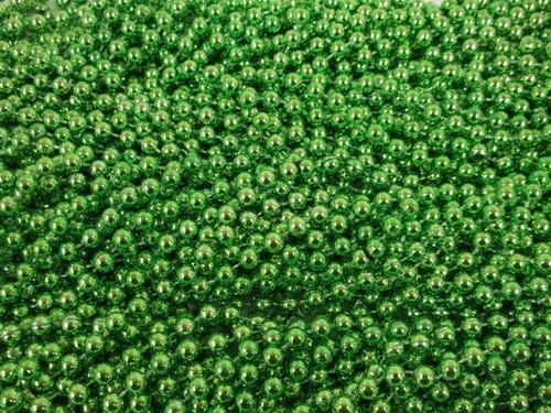 72 Mardi Gras Beads Lime Green Necklaces 6 Dozen Lot Party Favors