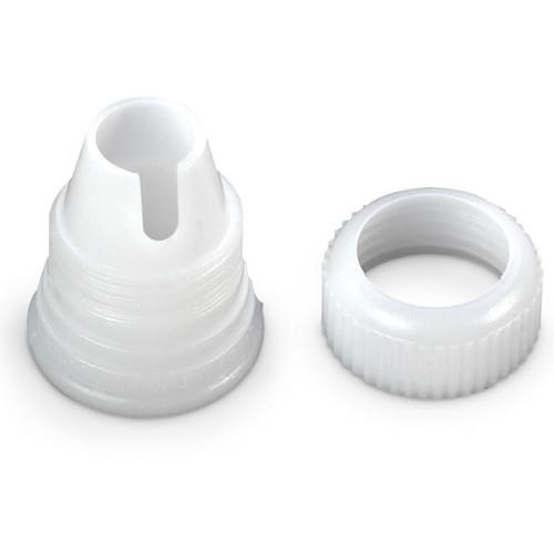 Wilton Standard Decorating Tip Coupler White Bag Attachment Cake
