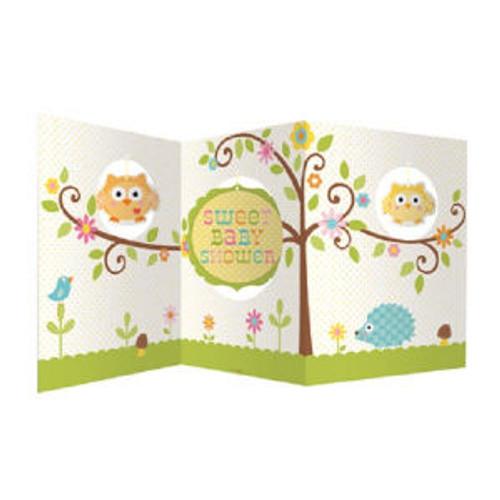 Happi Tree Baby Shower Sweet Baby Owl Decor Party Centerpiece