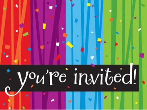 Milestone Birthday Party Invitations Celebrate Milestones Retirement