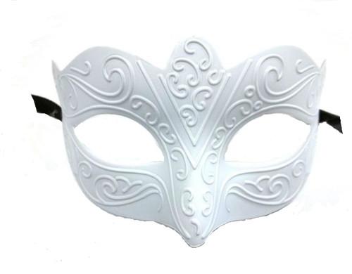 Wedding White Small Child Teen Masquerade Mardi Gras Mask Craft