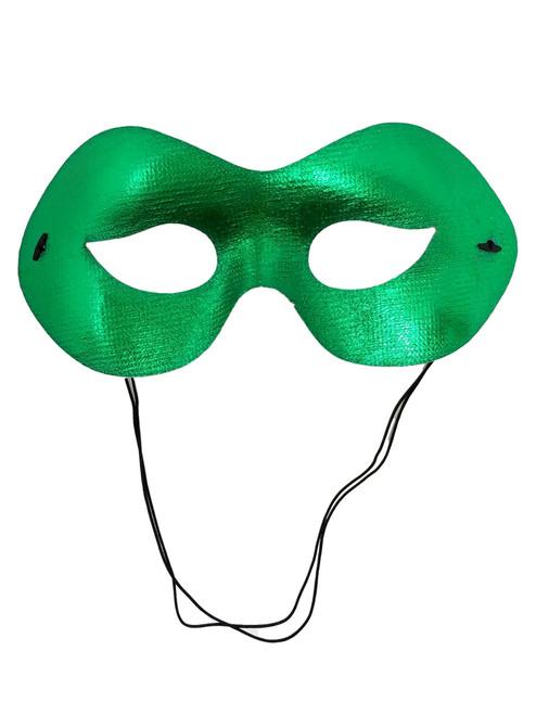 Green Fabric Halloween Ball Mask Masquerade Mardi Gras