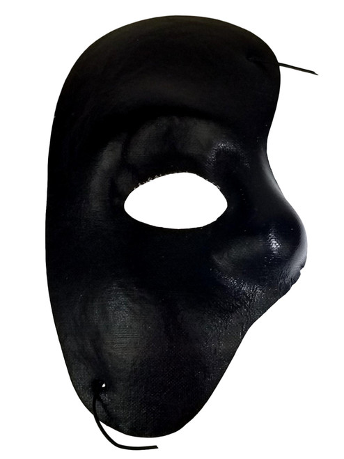 Black Phantom of The Opera Costume Masquerade Mask