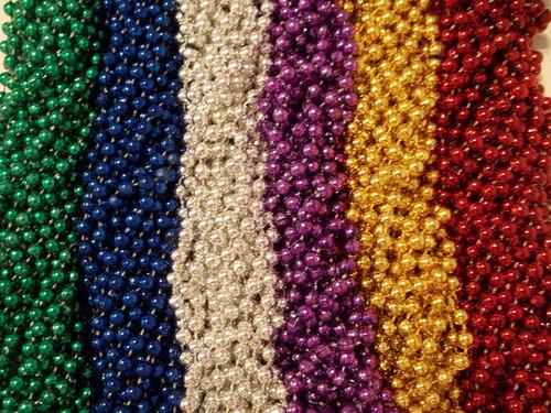 48 Birthday Party Favors Mardi Gras Beads Necklaces 4 dozen