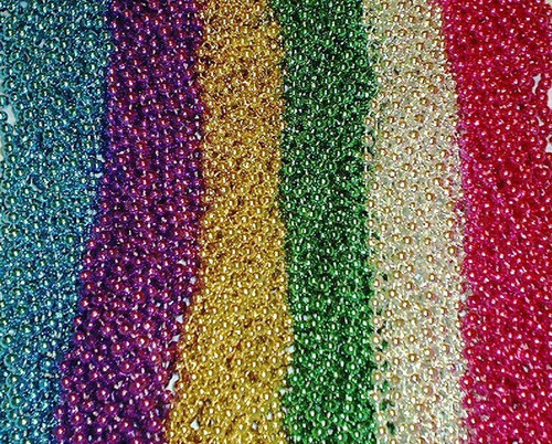 300 Assorted Color Necklaces Mardi Gras Beads Party Favors