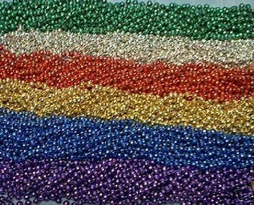 216 Assorted Mardi Gras Beads Necklaces Party Favors Huge Lot 18 Dozen