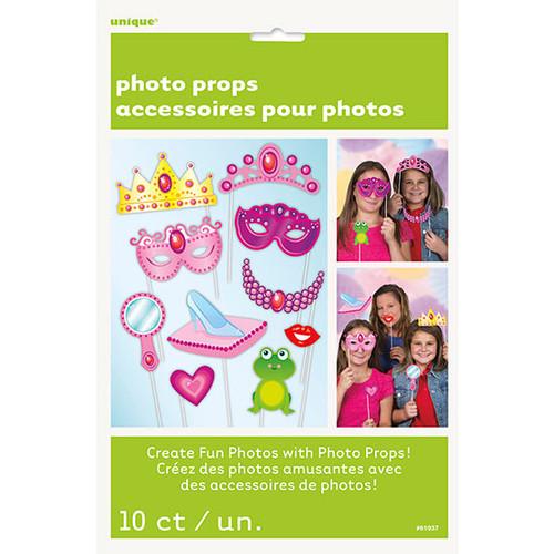 Birthday Princess 10 ct Photo Props Decor Happy Birthday Party