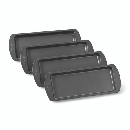 Wilton Easy Layers! 4 Piece Loaf Cake Pan Set 10 in