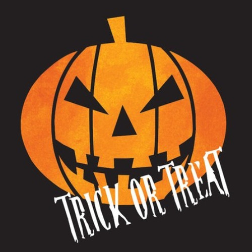 "Creepy Night Halloween Pumpkin ""Trick or Treat"" 16 Beverage Napkins"