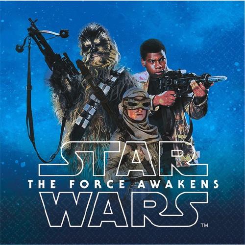 "Star Wars ""The Force Awakens"" VII Beverage Napkins 16 Ct"