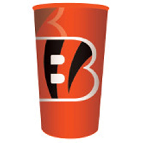 Bengals NFL Re-useable Stadium 22 oz Cup Plastic Football Tailgating Party