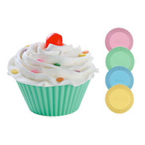 Wilton Pastel Silicone Standard Baking Cups Liners 12 Ct
