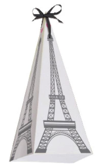 Party in Paris Birthday 8 Favor Treat Cone Eiffel Tower