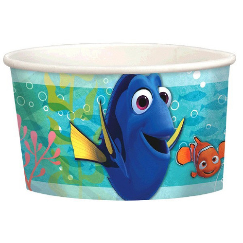 Finding Dory Birthday Party Paper Treat Cups 9.5 oz 8 Ct