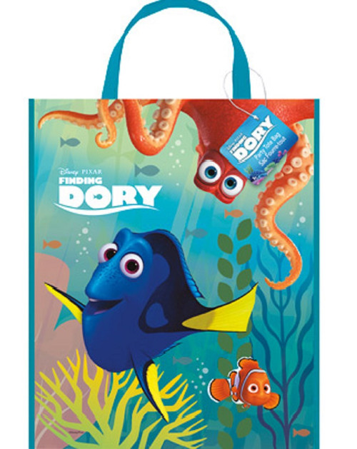"""Finding Dory Loot Favors Party Supplies Tote Bag 13"""" x 11"""""""