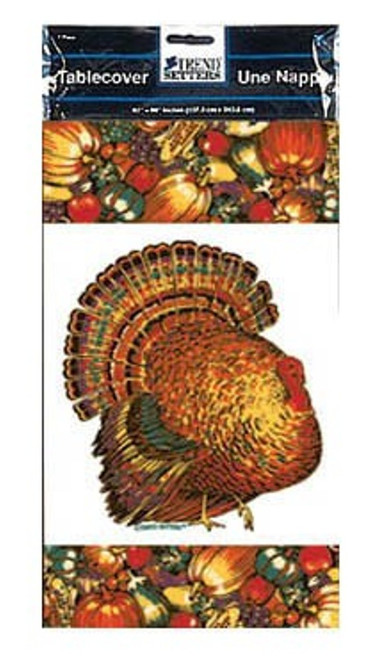 Autumn Turkey Paper 54 x 96 Fall Thanksgiving