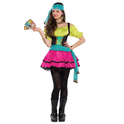 Mystical Fortune Teller Costume Junior Medium 7- 9 Costumes USA