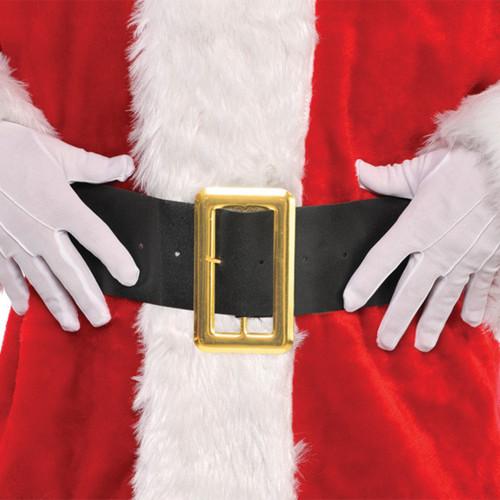 "Santa Claus Black Belt 36"" x 4"" Fabric"