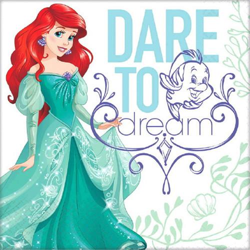 Ariel Dream Big 16 Lunch Napkins Birthday Party Little Mermaid