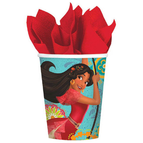 Elena of Avalor 8 9 oz Hot Cold Paper Cups Birthday Party