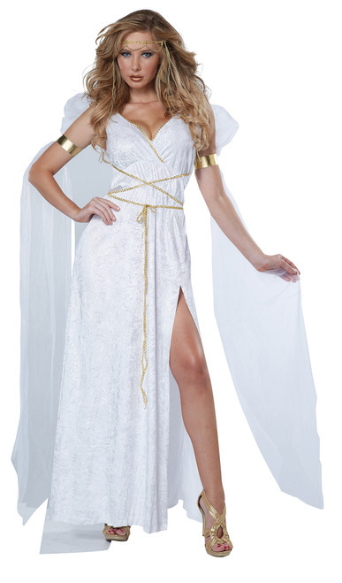Athenian Goddess Halloween Costume Adult Womans XL