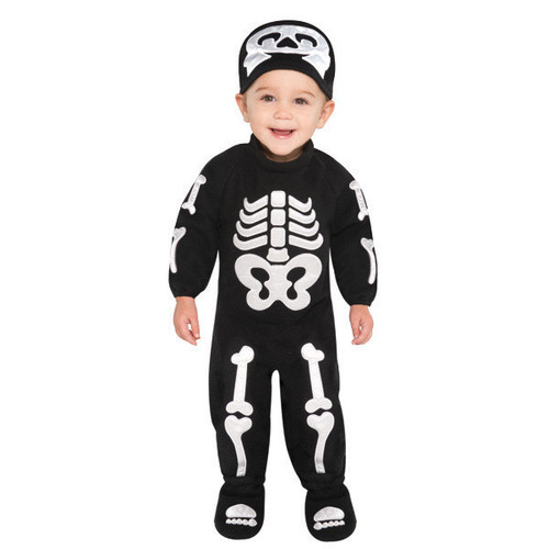 Bitty Bones Skeleton Costume Infant 0-6 Months