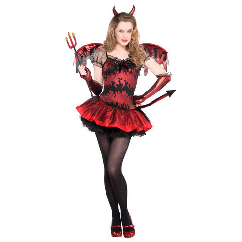 Hot Stuff Devil Costume Junior Small 3 - 5