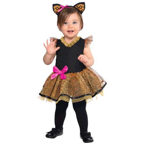 Cutie Cat Costume Infant 0-6 Months