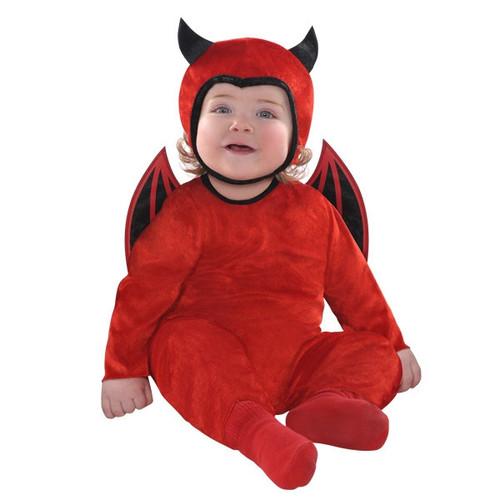 Cute As A Devil Costume Infant 0-6 Months