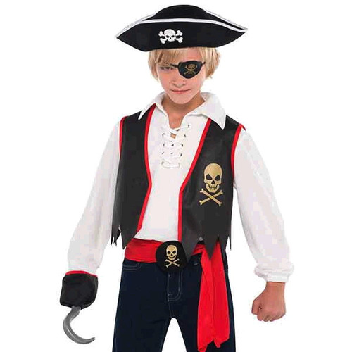 Pirate Buccaneer Costume Accessory Kit Child Boys