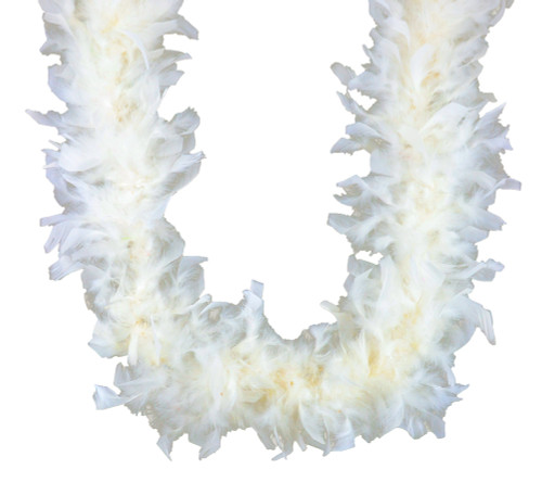 Eggshell 45 gm 72 in 6 Ft Chandelle Feather Boa
