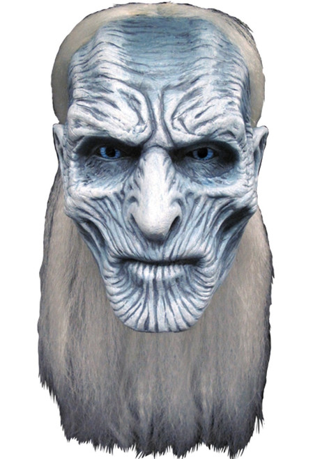 Trick or Treat Studios Game of Thrones White Walker Latex Mask