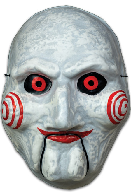 Trick or Treat Studios SAW Billy Puppet Vacuform Economy Mask White