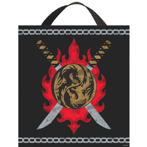 """Ninja Deluxe Halloween Treat Loot Party Tote Bag 15"""" x 13"""""""