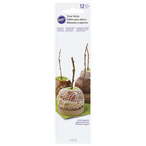 Caramel Apple Branch Stick Picks 12 Ct Wilton