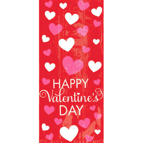 Happy Valentines Day 20 ct Cello Large Bags
